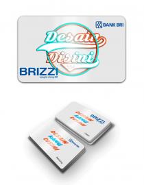 kartu bri brizzi custom desain online