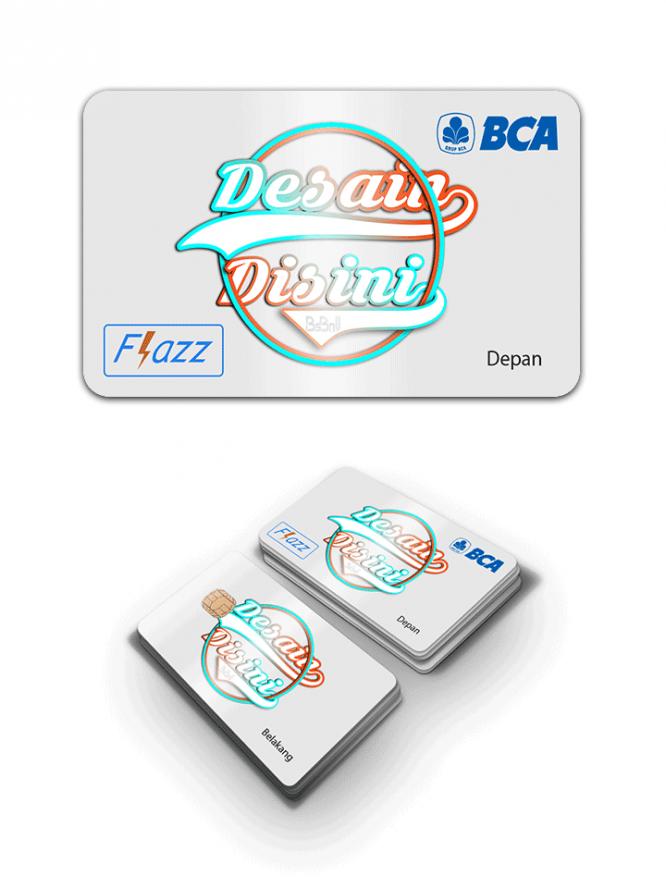 Custom Flazz BCA Terbaik Desain Sendiri dengan Online Designer