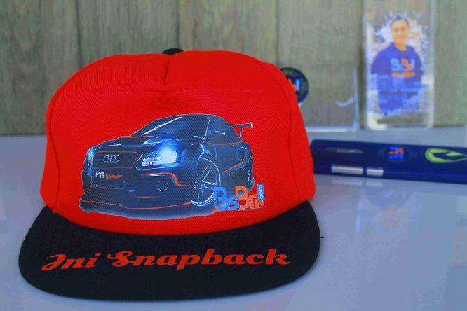 Desain Topi Snapback Online, Topi Snapback Custom