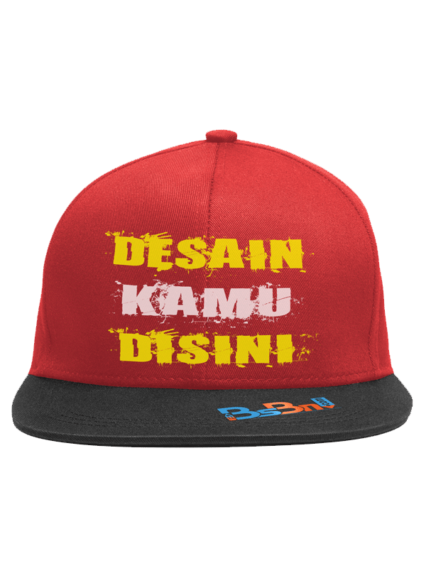 Topi Custom Model SNAPBACK Bebas Desain Sendiri