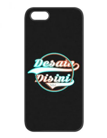 Casing Soft Case Black Matte Custom Bebas Desain
