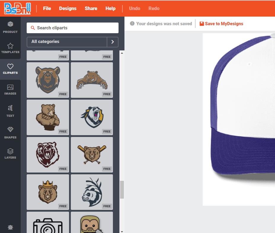vector free download template desain topi