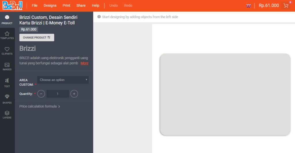 desain cara membuat KTA multi fungsi