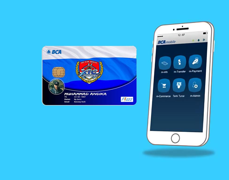 cek saldo kartu flazz melalaui BCA mobile