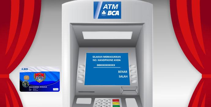 cek saldo kartu flazz melalui ATM BCA