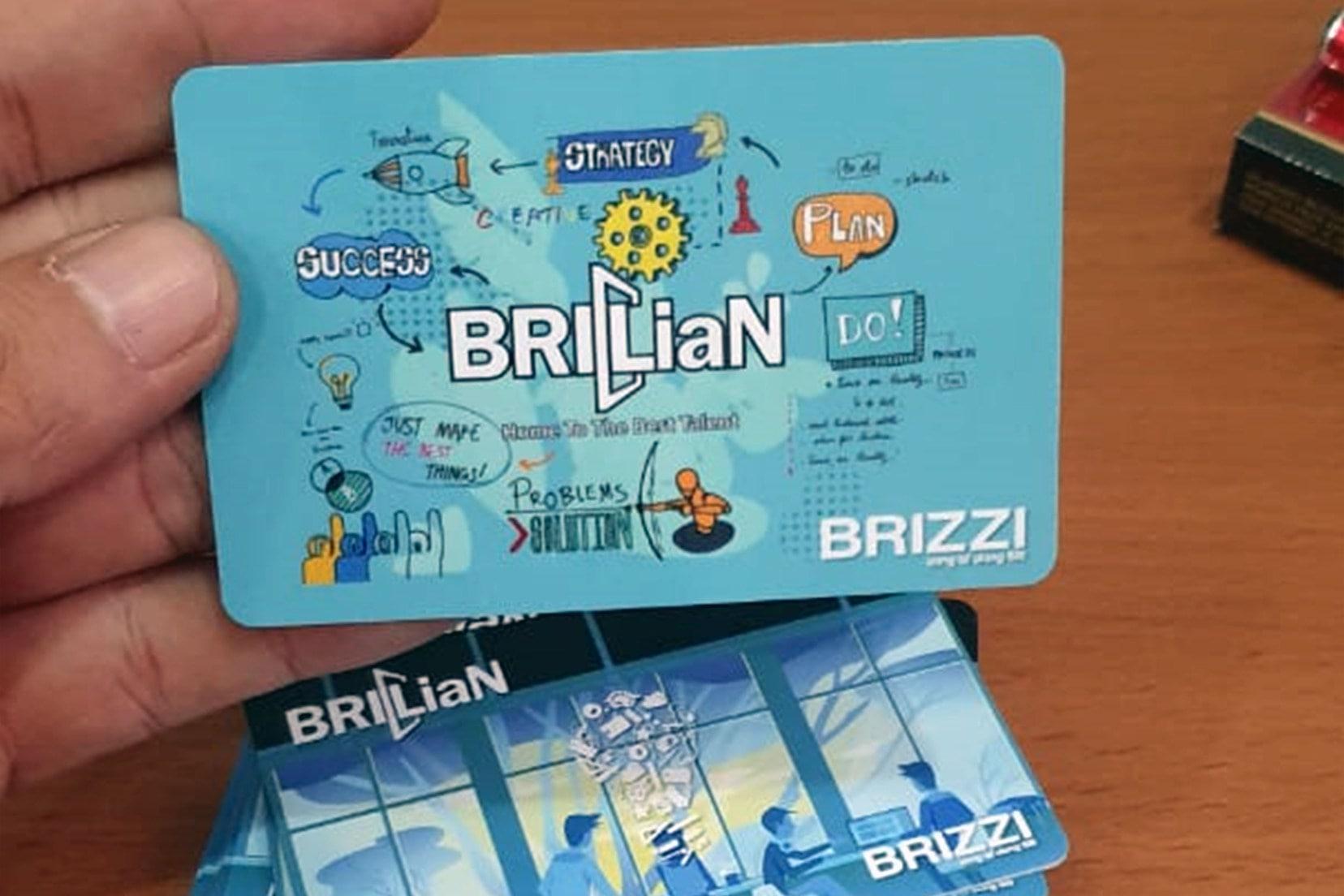 Brizzi Custom, Desain Sendiri Kartu Brizzi   e-Money e-Toll