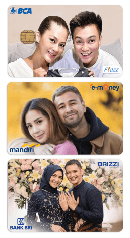 contoh desain kartu dengan foto artis idola