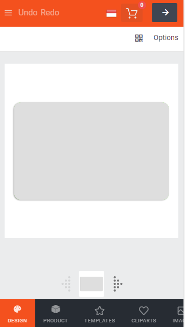 menu desain id card