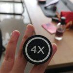 Ring Stand PopSocket Custom Bebas Desain Sendiri photo review