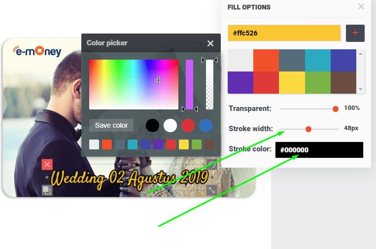 Cara Merubah Warna Text Atau Gambar
