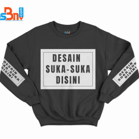 Sweater Custom Desain Suka-suka