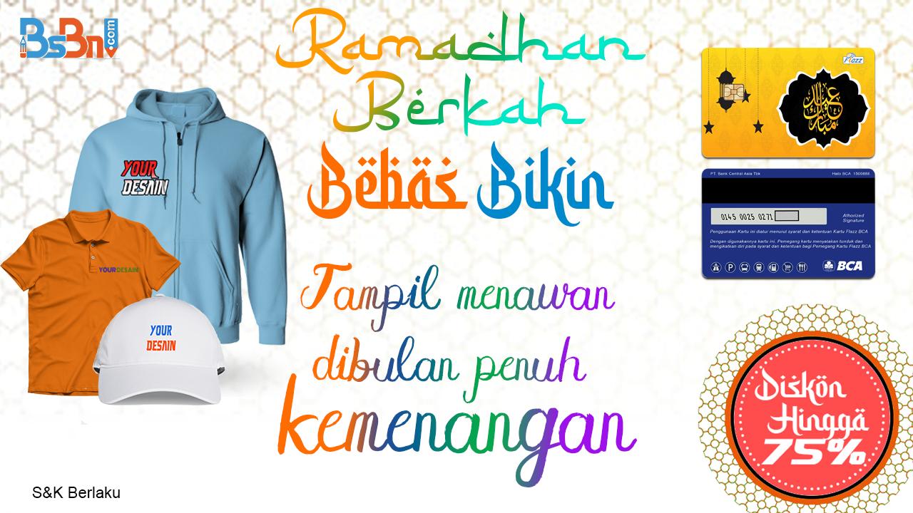 Promo Berkah Bebas Bikin di Bulan Ramadhan