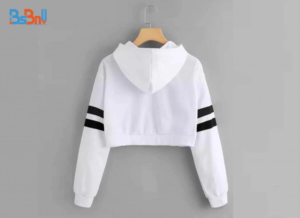 cut hoodie