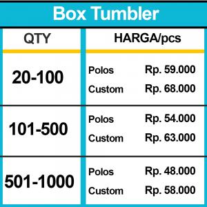 BOX TUMBLER HARGA