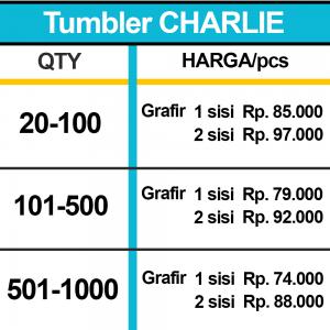 TUMBLER CHARLIE HARGA